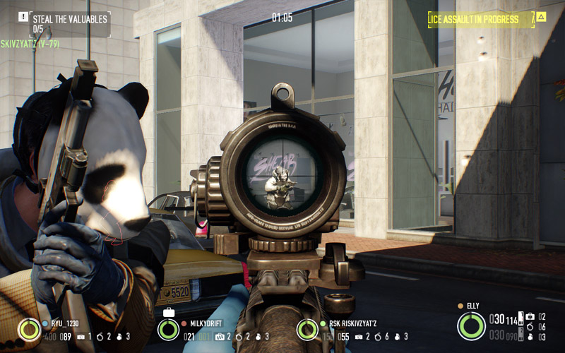how to change fov in payday 2